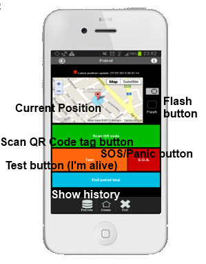 QRPatrol iPhone/Android App